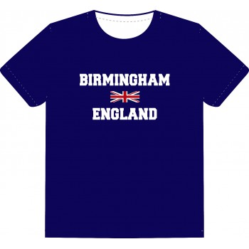 Souvenir T-Shirt (BIRMINGHAM-ENGLAND)