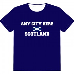 Souvenir T-Shirt (SCOTLAND)
