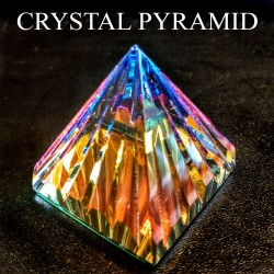 The Grooved Crystal Pyramid